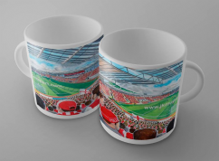 New york stadium mug